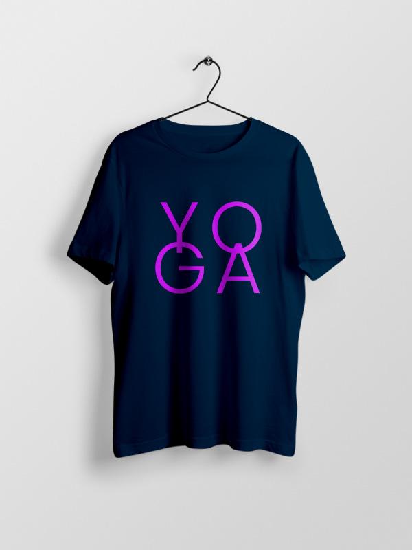 Yoga Pink – Unisex Tshirt
