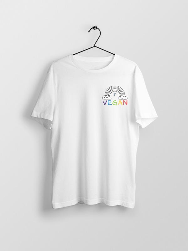 Vegan Rainbow – Vegan Tshirt