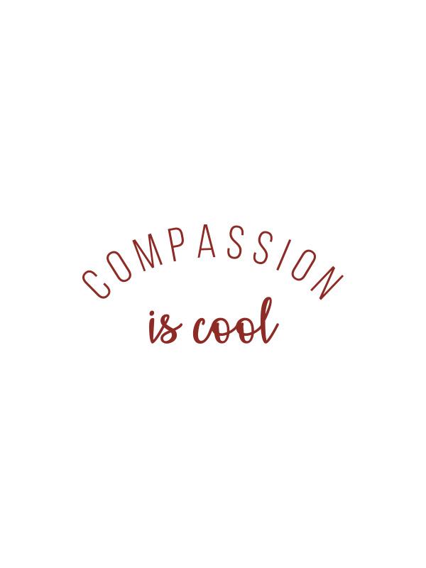 Compassion is Cool – Vegan Tshirt