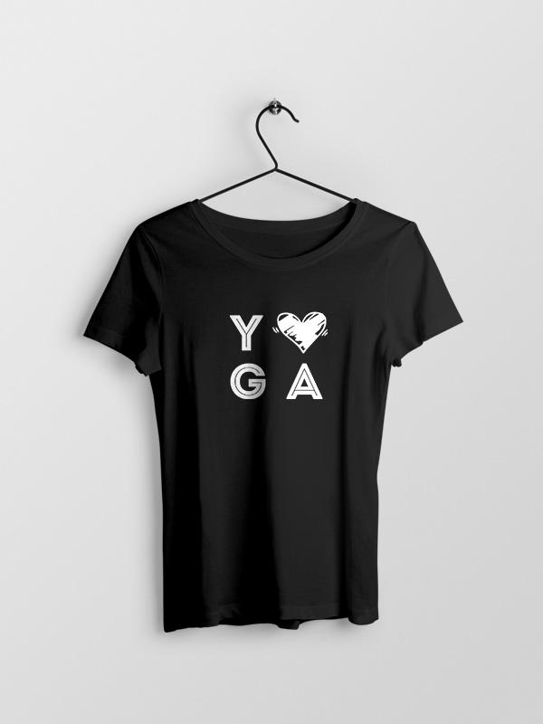 Yoga Love – Women Tshirt