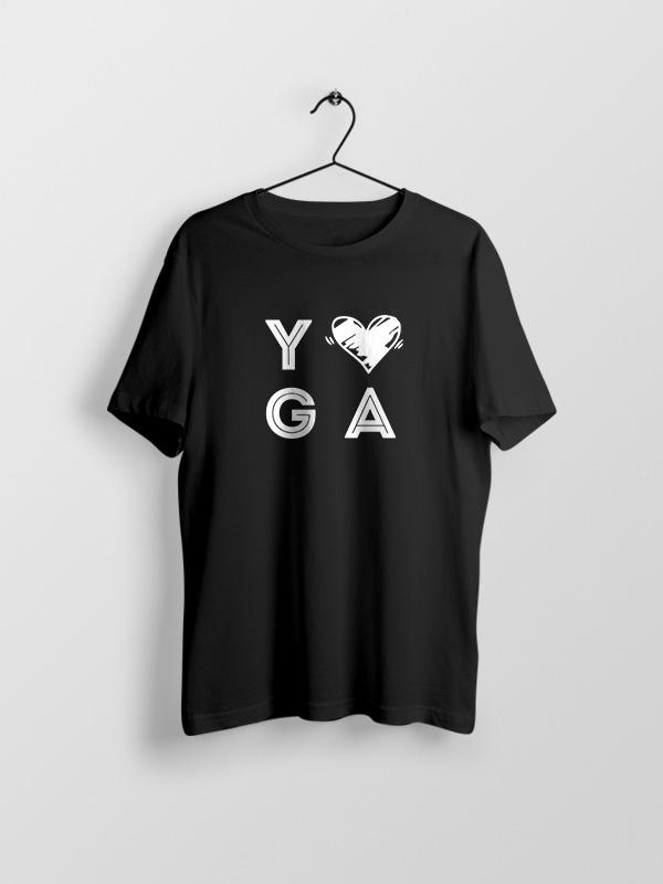 Yoga Love – Unisex Tshirt