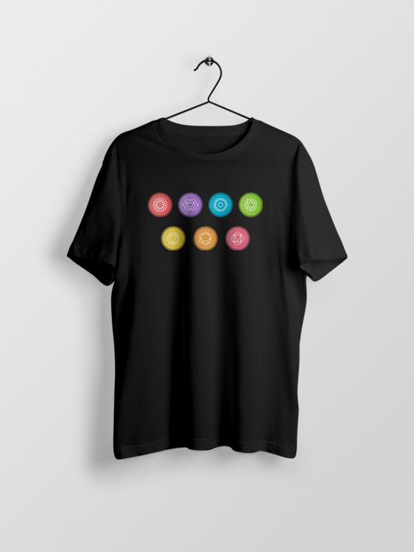 Yoga Chakras 3 – Unisex Tshirt