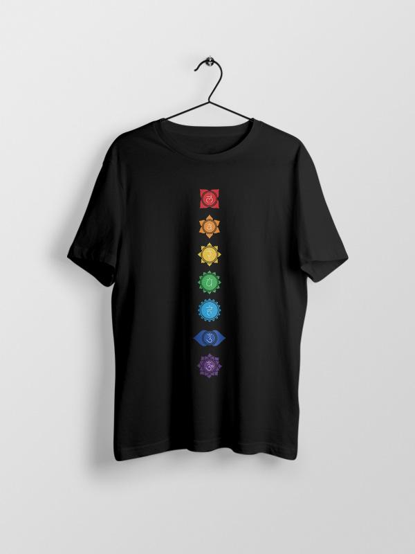 Yoga Chakras 4 – Unisex Tshirt