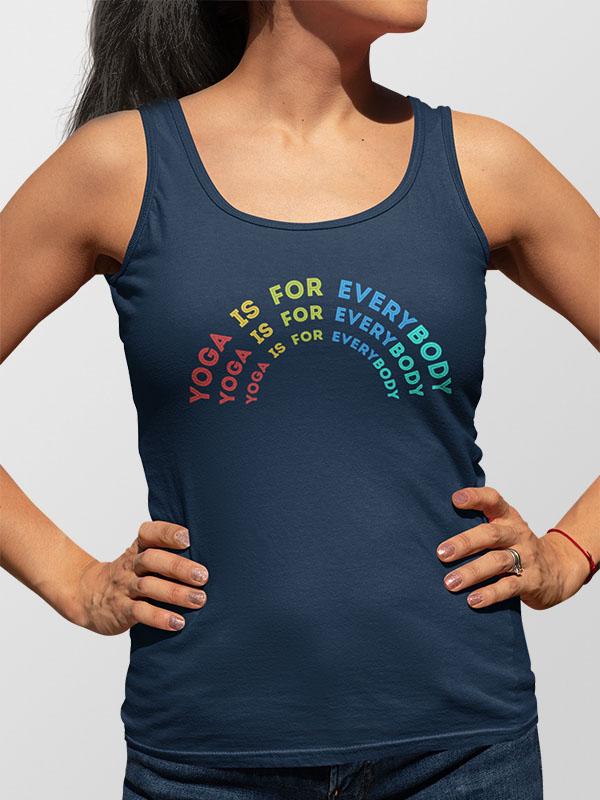 Everybody can Yoga – Women's Tank Top