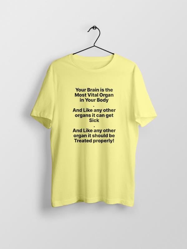 Brain the most Vital – Unisex Tshirt